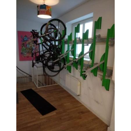 Aluminiumprofil für die Aufnahme unserer Bicyclejacks - bei Bedarf bitte anfragen
